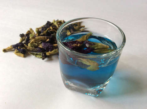 Color-Changing Teas - The Butterfly Pea Flower is Like the Mood Ring of Drinks