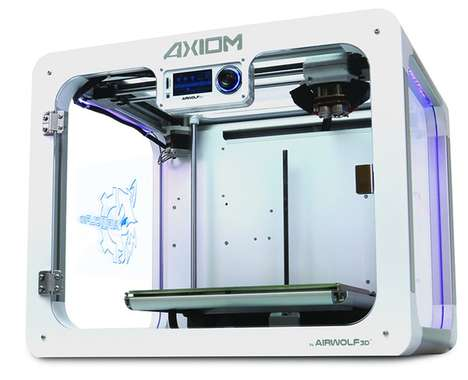 Upgraded Extruder 3D Printers