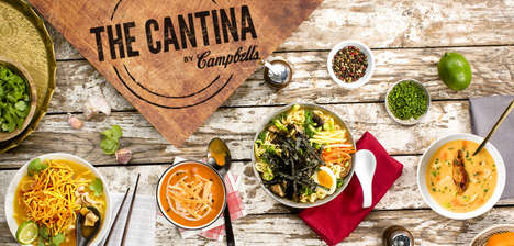 Branded Soup Pop-Ups - This Famous Chef is Currently Running the Campbell's Pop-Up Shop
