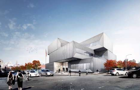 Green Roof Police Stations - The Design of the New 40th Precinct Station in New York is Eco-Friendly