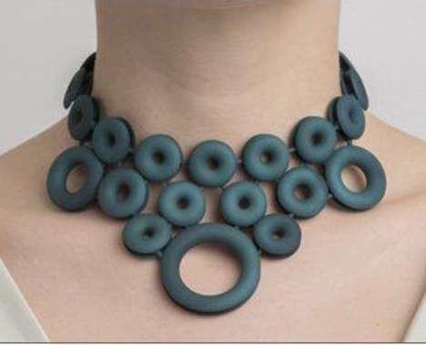 Circular 3D-Printed Jewelry