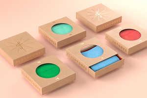 Flashtones' Sustainable Accessory Packaging Makes Cardboard Artful
