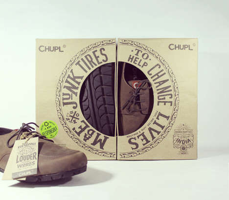 Inspirational Shoe Boxes - CHUPL's Sustainable Shoes are Paired with Responsible Packaging