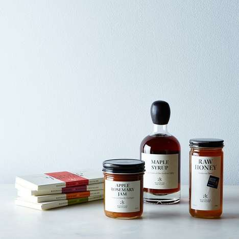 Gourmet Food Pantry Collections - This Decadent Gourmet Gift Set is Sweet, Savory and Spicy