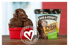 Indulgent Vegan Ice Creams - These Dairy-Free Frozen Desserts Come in Classic Ben & Jerry's Flavors