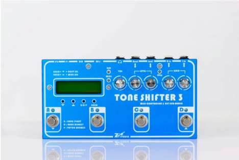 Tone-Shifting Pedal Boxes - The Tone Shifter 3 Puts a Complete Sound Interface At Your Feet