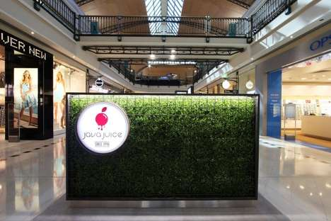 Nature-Inspired Juice Kiosks - The Java Juice Kiosk is Located in a Mall in Perth, Australia