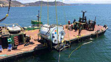Undersea Data Centers - This Microsoft Data Center is Located Beneath the Pacific Ocean