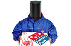 Voice-Controlled Pizza Deliveries - Domino's Tracker Deliveries Can Now Be Made Using Amazon Echo