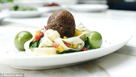 Test-Tube Meatballs - Memphis Meats' Lab-Grown Meat Could Revolutionize the Food Industry