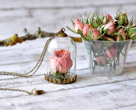 Flower-Preserving Necklaces