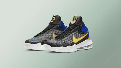 City-Celebrating Ball Shoes - The Nike Basketball Toronto Collection Honors All-Star Weekend