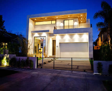 Luxurious Eco-Friendly Abodes - This West Hollywood Home Boasts a Number of Sustainable Features