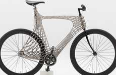 3D-Printed Steel Bicycles