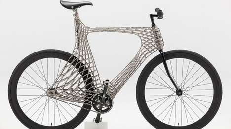 3D-Printed Steel Bicycles - These Stainless Steel Bicycles Were Welded Using a Robotic Arm