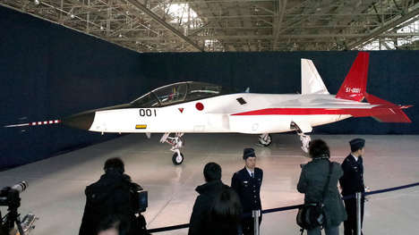 Stealthy Japanese Aircraft - The X-2 is Japan's First Domestically Produced Stealth Fighter Jets