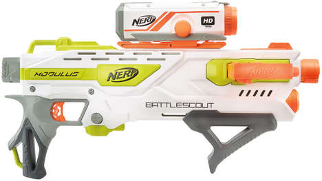 Camera-Toting Toy Guns - This Nerf Blaster Features a Removable Video Camera