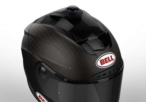 360-Degree Camera Helmets - The Bell 'Helmet 360' is a Safety Device with 4K Video Capabilities