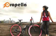 Affordable Electric Bicycles - The 'Propella' Electric Lightweight Bike Offers Enhanced Range