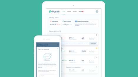 Subscription Management Services - Startup Truebill Helps You Find, Track and Cancel Subscriptions