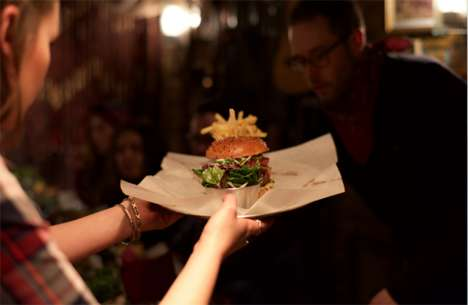 Storied Tasting Competitions - This Immersive Dining Event Was Hosted in London by Burger & Lobster