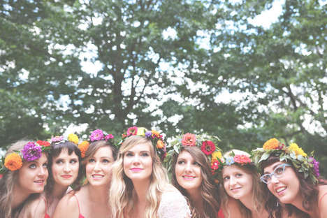 Bohemian Woodland Weddings - This Forest Wedding Brings a Rustic Design Theme to Life