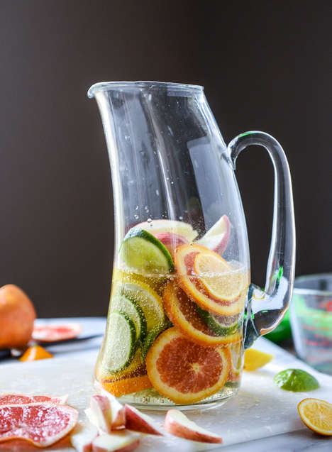 Spiced Beer Sangrias - The Meyer Lemon Shandy Sangria Combines Blends Two Drink Styles