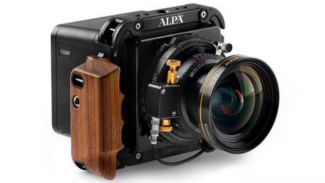 Optical Correction Cameras - This Medium Format Camera Corrects Images Based On the Lens Used