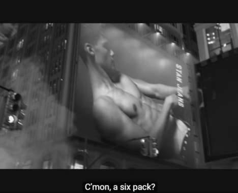 Male Body Spray Rebranding
