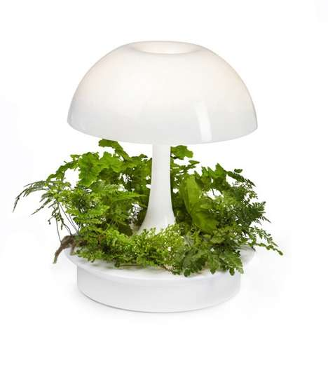 Greenery Palette Lamps - The Ambienta Light is Designed to Effortlessly Grow Indoor Plants