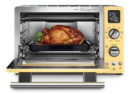 Energy-Efficient Ovens - The KitchenAid Convection Countertop Digital Oven Saves Time and Energy