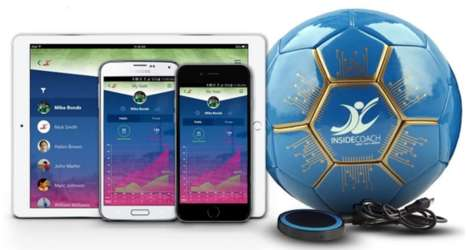 Smart Soccer Balls - The Inside Coach Ball Can Monitor Players' Skills and Progress