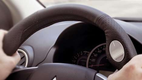 Touchpad Steering Wheel Covers - The Radiomize Converts Your Steering Wheel Into a Touch Controller