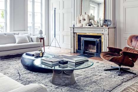 Retro-Modern French Apartments - This Parisian Residence Marries Vintage and Contemporary Themes