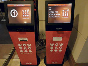 Convenient Kiosk Ordering Systems - This Restaurant Uses Digital Kiosks to Take Orders