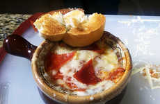 Savory Pizza Soups - This Bisque Recipe Creatively Transforms Pizza Pie into a Liquid Dish