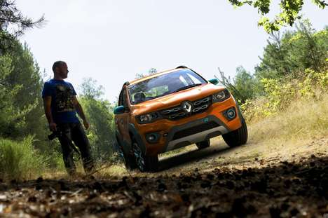 Climbing-Centric Cars - The Renault KWID Climber Lets You Traverse Hills and Bumpy Roads