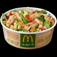Superfood Fast Food Salads - The McDonald's 'Keep Calm Caesar On' Offers an Alternative to Burgers