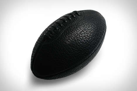 Luxe Blogger Footballs - The Bison Leather Head Football Design Celebrates Online Platform Uncrate