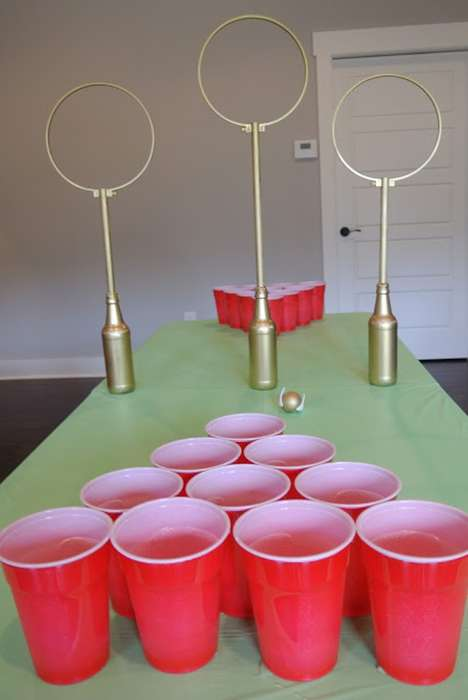 Wizardly Drinking Games - The Quidditch Game of Beer Pong Offers a Magical Way to Enjoy Beer