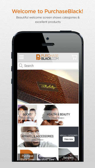 Black Business-Supporting Apps - 'Purchase Black' Lets You Locate and Support Black-Owned Businesses