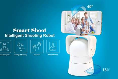 Intelligent Photography Robots - The Smart Shoot Enables Any Smartphone to be a Hands-Free Camera