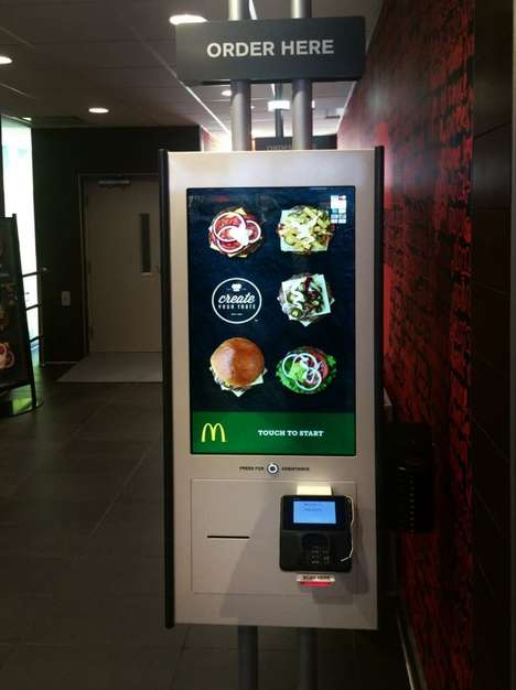 Contemporary Casual Eateries - The McDonald's Restaurant of the Future Location is Interactive