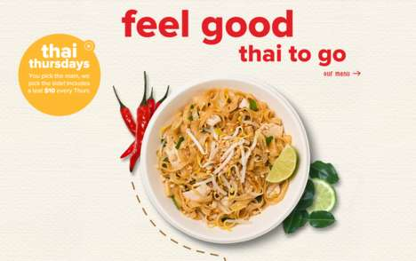 Ultra-Authentic Thai Eateries - Thai Food Restaurant 'Dee Daa' Flash-Freezes Its Sauces Overseas
