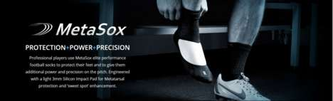 Injury-Preventing Athletic Socks - These Sports Socks Feature a Silicone Pad That Protects the Foot