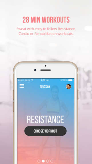 Quick Fitness Apps - The 'Sweat with Kayla' App Comes from Instagram Fitness Star Kayla Itsines