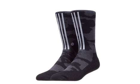 Street-Worthy Sport Socks - These Primeknit Socks Blend Sport and Street Aesthetics