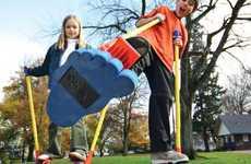 The Monkey Business Sports Stilt Walkers Let Kids Fine-Tune Motor Skills