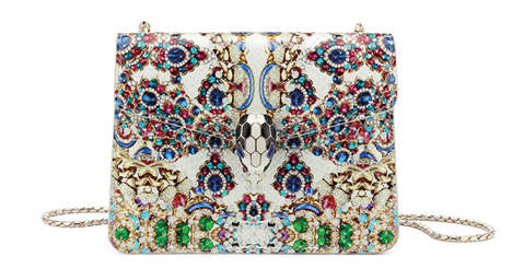 Jewel-Encrusted Handbag Collections - The Bulgari Serpenti Bag is The Epitome of Luxury