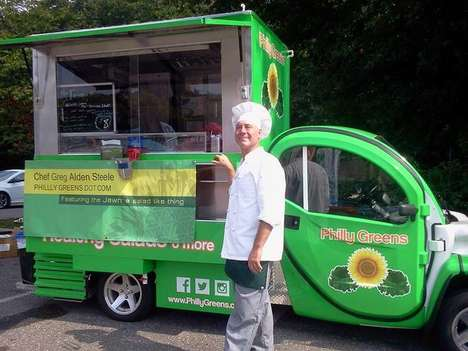 Sustainable Food Trucks - This Eco-Friendly Food Truck is Powered by Electricity